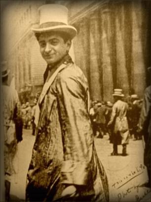 Irving Berlin in New York City, 1911