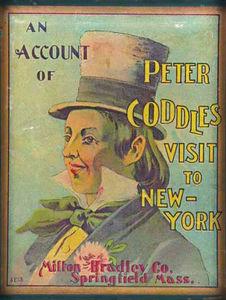Peter Coddle's Visit To N.Y., Milton Bradley, 1890s.