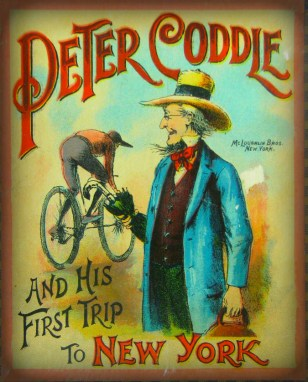 Peter Coddle's Trip To New York Game, circa 1890. McLoughlin Brothers.