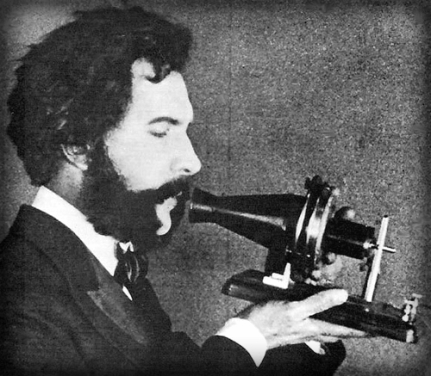 Alexander Graham Bell; Early Telephone.