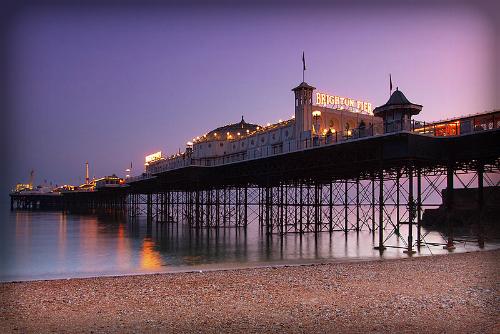 Brighton Pleasure Pier.. Image: BaldBoris.