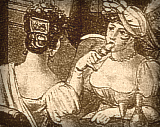 Louis Philibert Debucourt, Frascati-1807. Image: Robert. J. Weir.