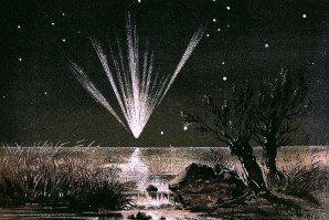 Great Comet 1861. Image: E.Weib.