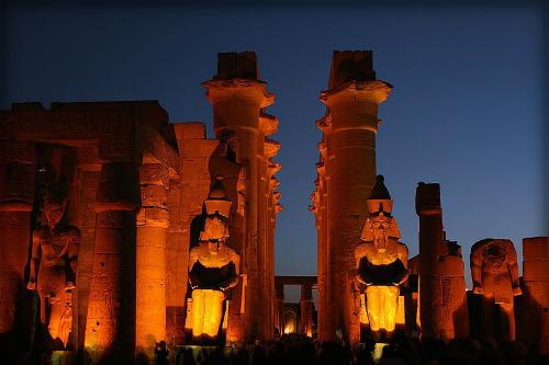 Luxor Temple. Image: Wikipedia.