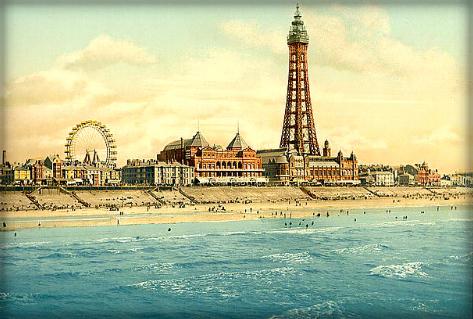 Blackpool Pleasure Pier.