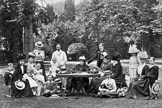 Queen Victoria's Family. Image: English Heritage.