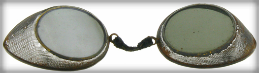 Cinder Glasses, 1850s. Image: EyeGlassesWarehouse.com