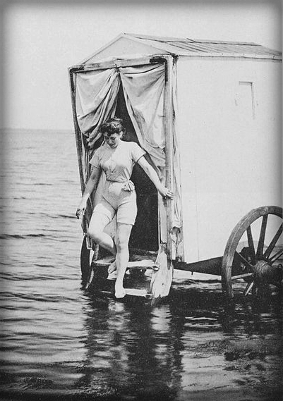 Bathing Machine, 1893. Image: Wikipedia.