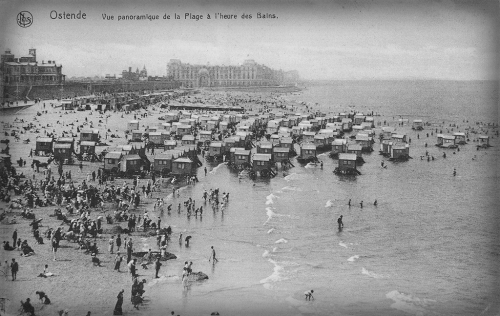 Bathing Machines, Ostende.