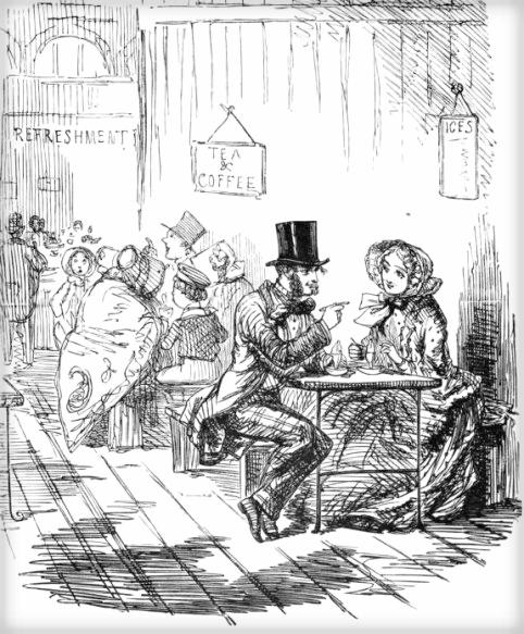 Great Exhibition 1841, Punch Cartoon. Image: Victorian Web.com.
