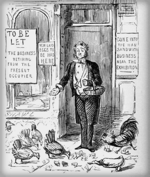 Great Exhibition 1841, Punch Cartoon. Image: Victorian Web.com.