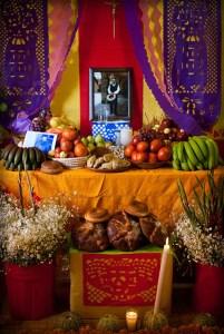 Altar Dia De Los Muertos. Image: Eneas de Troya.