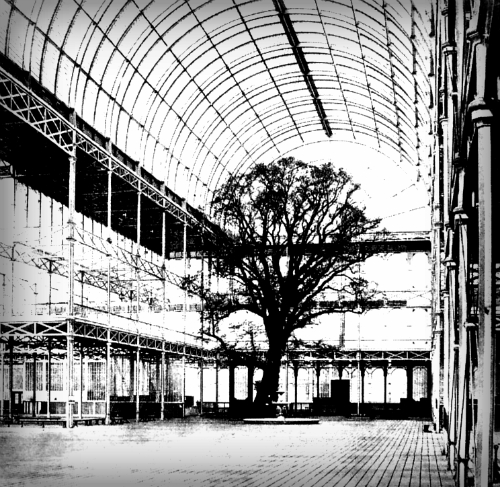 Great Exhibition 1841, Crystal Palace. Image: Wikipedia.