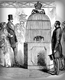 Koh-i-Noor Diamond, Great Exhibition, 1851. Image: Wikipedia.
