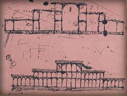 Crystal Palace Sketch by Joseph Paxton. Image: British Library.uk.