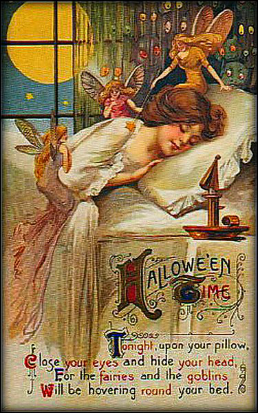 Victorian Era Halloween.
