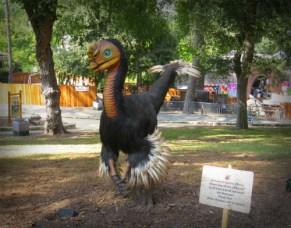 Jurassic World Exhibit, Los Angeles Fair 2016. Image: B. Rose.