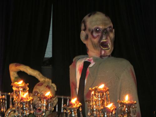 Halloween Feast For The Dead, Malibu California. Image: B.
