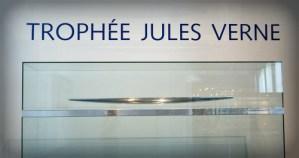 Jules Verne Trophy, National Maritime Museum Paris. Image: Fanny Schertzer.