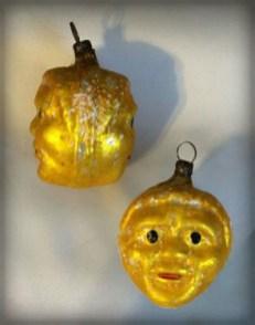 Moon Face Ornament.