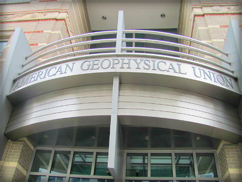 American Geophysical Union. Image: sikeri, Wikipedia.