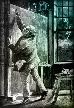 Jules Verne North Pole Novel: J.T. Maston Computes Gun Size.