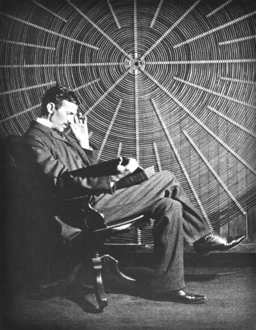 Nikola Tesla Papers, May 20, 1896. Image: Wikipedia.