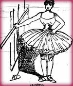Nellie Bly Articles: Learning Ballet. New York World, Dec. 18, 1887.