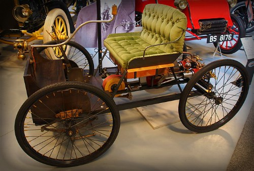 Ford Quadricycle Replica, Den Hartogh Ford museum. Image: Alf van Beem