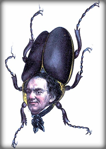 P.T. Barnum the Humbug, 1851. Image: The comic natural history of the human race.