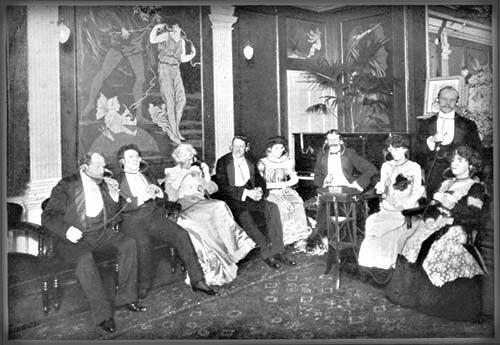 Victorian Era Listening Station, 1903. Image: Wikipedia.