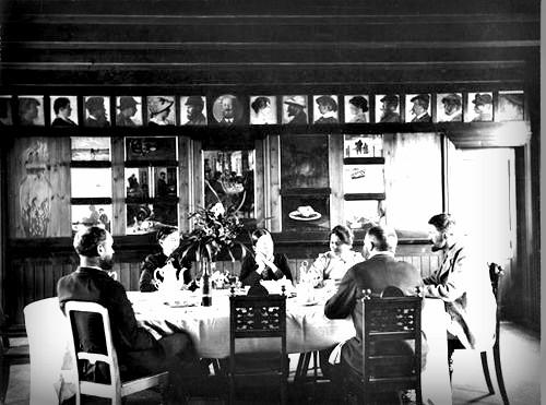 Skagen Painters, Brøndums Hotel, 1891-92. Image: Wikipedia.