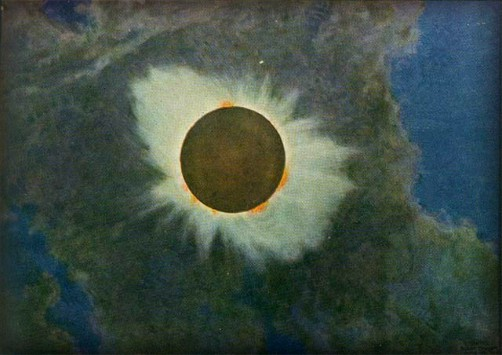 Victorian Era Solar Eclipses, Howard Russell Butler. Image: Wikipedia.