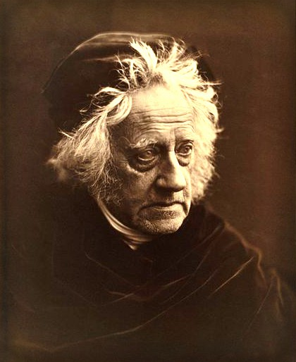 Sir John Herschel, 1867, Photographed by Julia Margaret Cameron. Image: Wikipedia.