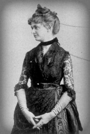 Victorian Era Solar Eclipses: Mabel Loomis Todd, 1897. Image: Wikipedia.