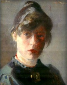 Marie Kroyer-Self Portrait, 1889. Image: Wikipedia.