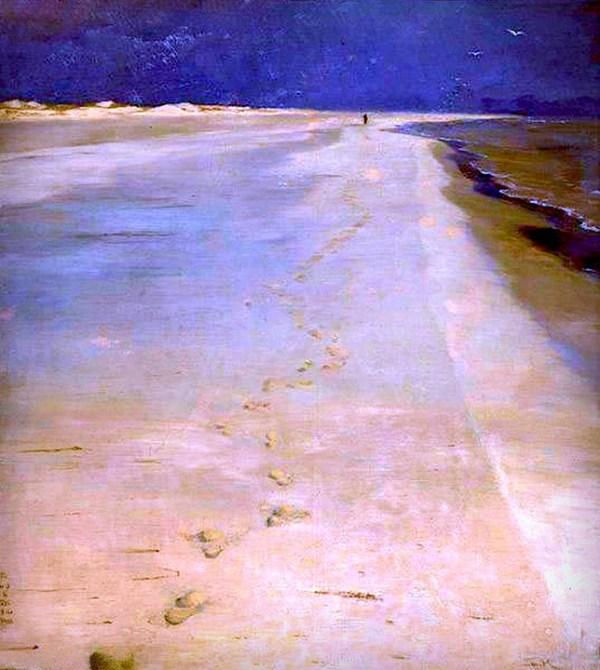 Peder Severin Kroyer: On South Beach Skagen.