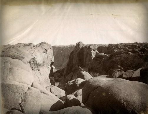 The Great Farini Crosses Kalahari, Lulu Farini Photographs. Image: National Archives UK.