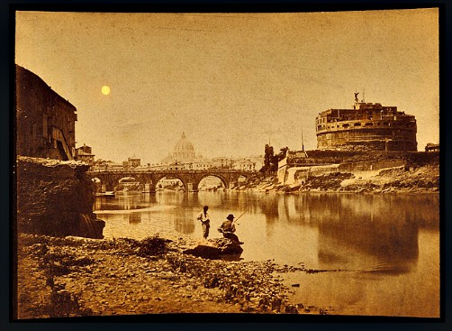 Megalethoscope; Castle and Bridge St. Angelo and the Tibre. Image: luminous-lint.com.