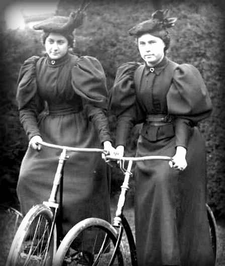 Victorian Era Bicycles. Image: OldBike.eu.