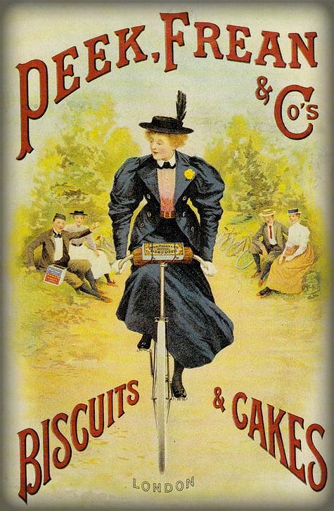 Peek Frean & Co. Biscuits Ad. Image: Public Domain.