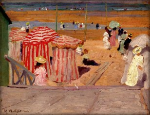 Emanuel Phillips Fox: The Promenade, 1909. Image: Wikipedia.