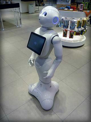 SoftBank, Pepper The PromoBot. Image: Tokumeigakarinoaoshima.