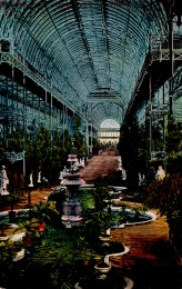 _crystal palace interior postcard