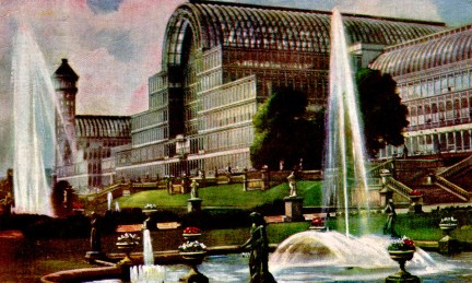 Crystal Palace Postcard.
