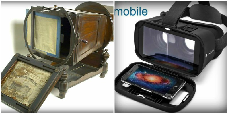 Megalethoscope and Virtual Reality Device.