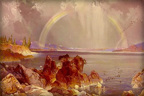 The Thomas Moran Yellowstone Paintings Stopped Public