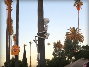 Catrina: Los Angeles Hollywood Cemetery, Day of the Dead. Image: B. Rose.