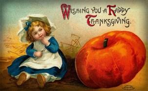 Vintage Thanksgiving Postcards. Image: Public Domain.