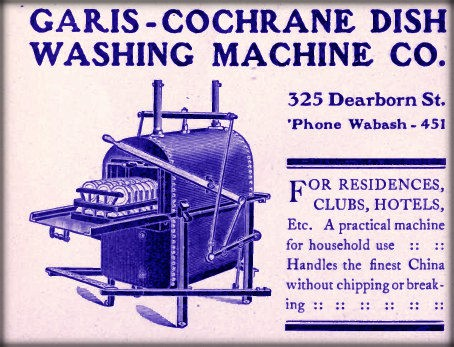 Dish washer ad. Image: Public Domain.